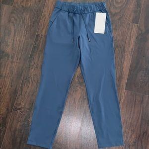 NWT Lululemon Code Blue On The Fly Pants Luxtreme